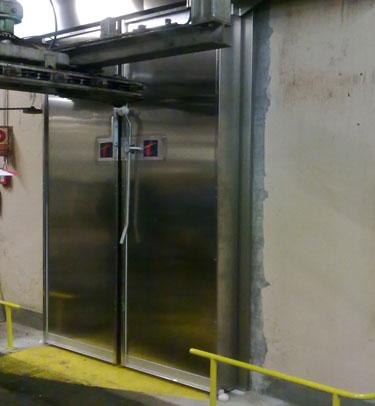 Puerta corredera de doble hoja - Puerta corredera doble hoja ...
