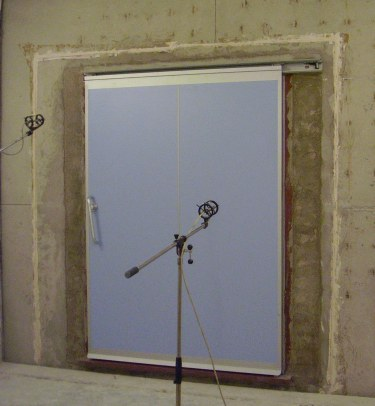 QuietSlide Glass Sound Control Doors Single Door Or Bi Parting Doors