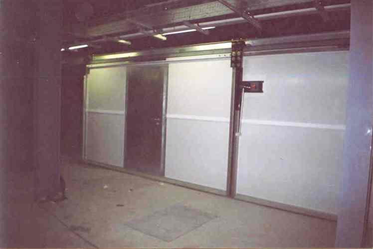 Puerta corredera acustica dam2p rw 44 db de doble hoja - Puerta corredera doble hoja ...
