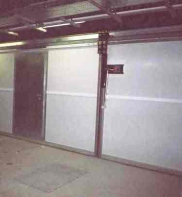 Puerta corredera acustica dam2p rw 44 db de doble hoja tane hermetic - Puerta corredera doble hoja ...