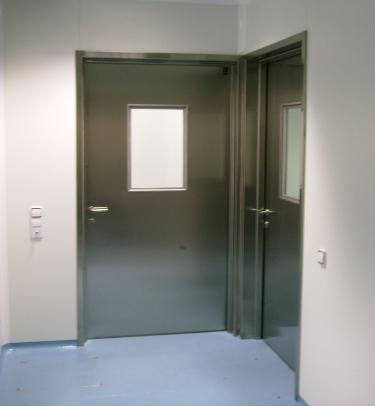 puerta acstica pivotante